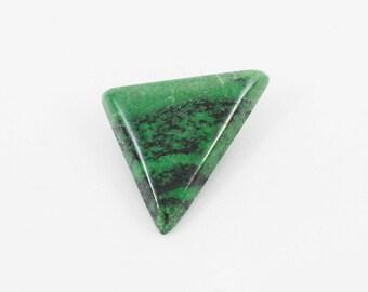 Grossular Garnet Freeform Triangle Cabochon (CA_00321)