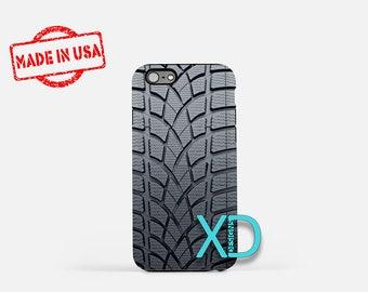 Tire Treads iPhone Case, Car iPhone Case, Tire Treads iPhone 8 Case, iPhone 6s Case, iPhone 7 Case, Phone Case, iPhone X Case, SE Case New