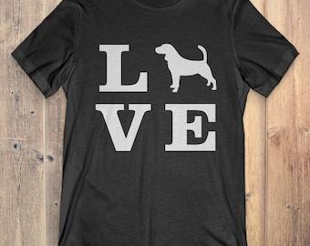 Beagle Dog T-Shirt Gift: I Love Beagle