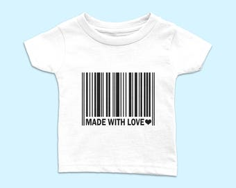 Funny Barcode Baby T-shirt