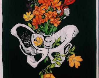 Pelvis and Flower