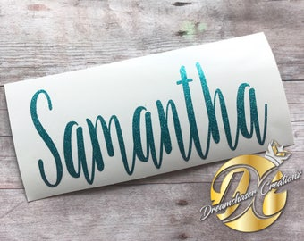 Personalized Name Decal, Name Decal, Yeti Decal, Tumbler Decal, Car Decal, Notebook Decal, Cup Name Decal