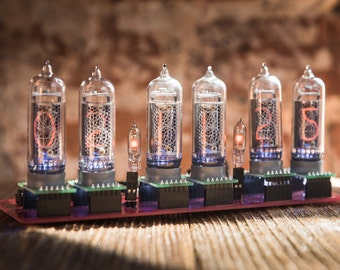 IN-14 Nixie tube clock without case