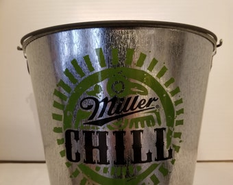 Miller Chill Ice Bucket. Beer, bar, man cave