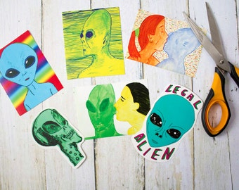 Aliens Sticker Pack