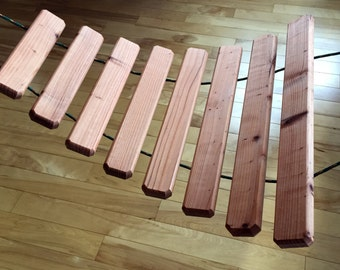 Redwood Xylophone Large: Indoors or Out