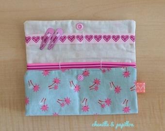 Fabric - Kit girl Kit - Kit girl hair clips