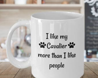 Cavalier King Charles Spaniel – King Charles - Cavalier King Charles Spaniel Gift - Cavalier Birthday - Cavalier Spaniel - More Than People