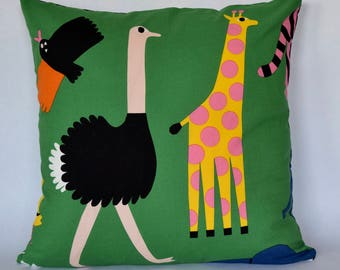 Marimekko Pillow Case, Handmade, 18x18 inches (45x45cm)
