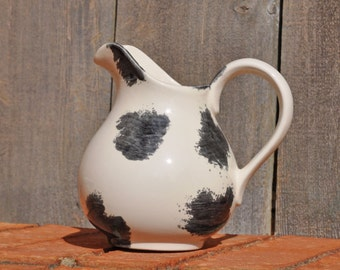 Small Cow Spot Pitcher