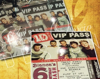 1D - One Direction VIP Invitation (24)