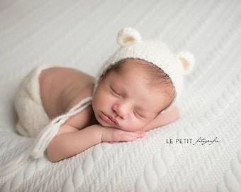 Newborn props -Newborn set – Baby props – Newborn boy – Photo props – Baby boy set – Newborn hat – Newborn pants – Baby boy props - Bear set
