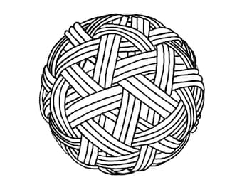 Adult Colouring Ball