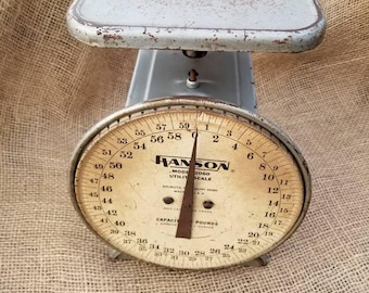 Hanson 2060 Scale  Utility Scale  Kitchen Scale 60 Pound Scale