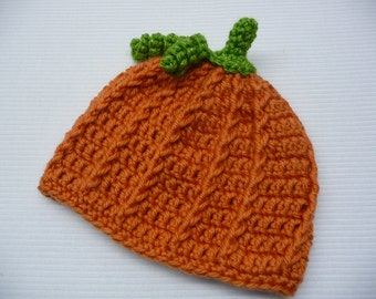 Sparkly Pumpkin Hat - Pumpkin Hat - Baby Pumpkin Hat - Child Pumpkin Hat - Photo Prop - Baby Photo Prop - 7 Sizes Available