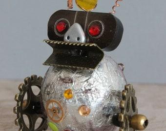 12th scale steampunk model: Robot E