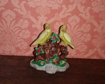 12th scale dolls house Canaries Ornament