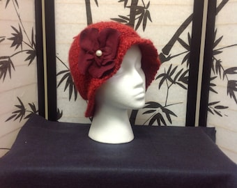 Womens cloche hat