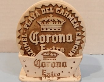 "Image result for ""Corona Extra"" drink coaster ceramic holder"