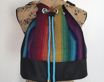 Girasol Rainbow Obsession Cuervo Carmel Rucksack / Bucket bag
