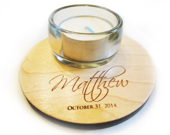 Remembrance, Celebrate Life, New Baby Custom Candleholder