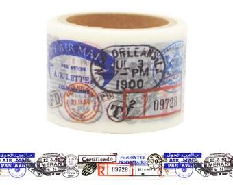 ST8 Postage Stamp Washi Tape for Scrapbook
