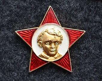 SALE!!! Soviet Vintage Octobrist Pins Made in USSR in 1980s. Retro, vintage, back to USSR