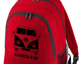 CAMPERFAN- Cool iconic Classic Camper Backpack BPK1195