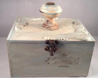 Altered Cigar Box Havanna Sea
