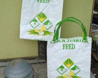 Feed Sack Tote