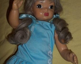 """Reduced! Terri Lee doll blond ash hair pat pending late 1940's vintage 16"""""""
