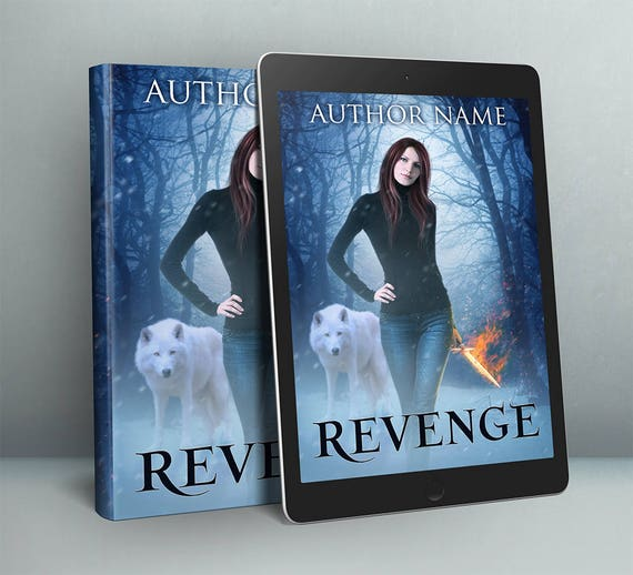 Premade modern paranormal fantasy cover art