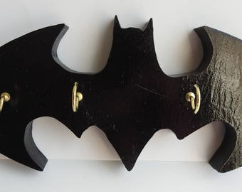 Batman Key Holder Batman Emblem Key Holder Batman Dark Knight Emblem Key Holder