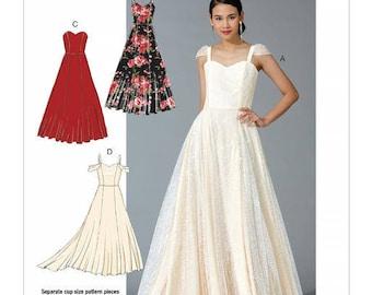 Wedding dress pattern McCall's M7718
