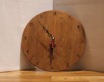 Wooden Clock//Waldorf Clock