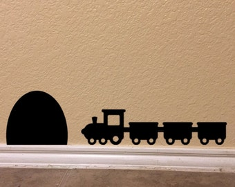 Toy Train in Tunnel Decal