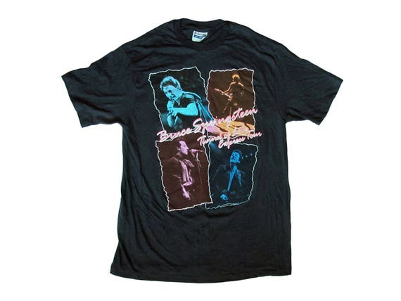 Vintage Bruce Springsteen Tunnel of Love Express Tour T-Shirt