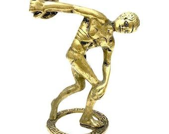 Neoclassical Discobolus Statuette