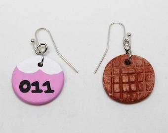 Inspired Eleven Season 1 Earrings, Geek Jewelry, Geek Fashion