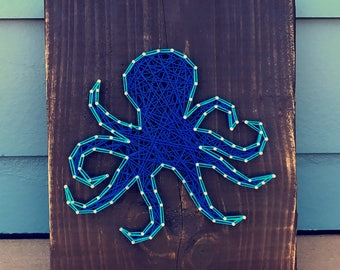 Octopus String Art