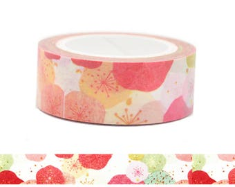 Japanese Traditional Floral Style Washi Tape