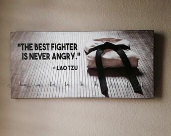 Karate Medal Holder - Black Belt