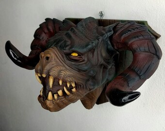 Deathclaw - Mounted Creature Head- Resin kit (Fallout 4)
