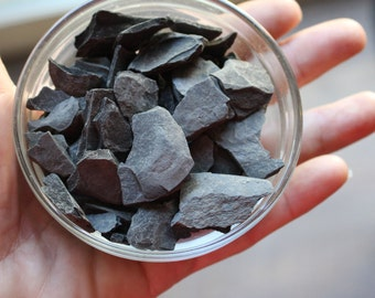 Slate for paths-Larger 1/3 cup bag for walkways-fairy roads and more-Over 4 Oz Bag of assorted pieces of Slate Stone