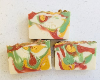 Painted Desert Soap | Handmade Soap | Artisan Cold Process Soap