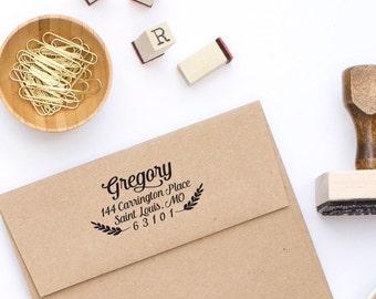 Return Address Stamp - Self-Inking Address Stamp - Address Stamp No. 79