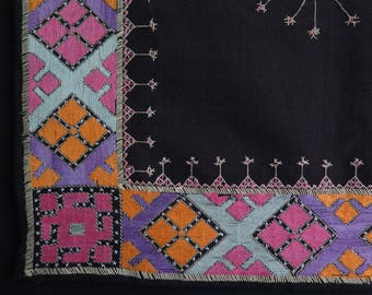 Afghanistan - Kohistan Silk Embroidered Hanging