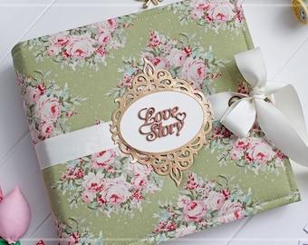 Custom Wedding Album, Bridal Guest Book, 5x7 Photo Album, Custom Photo Album, 9x9 Photo Album, Personalised Photo Book, Wedding Photo Book