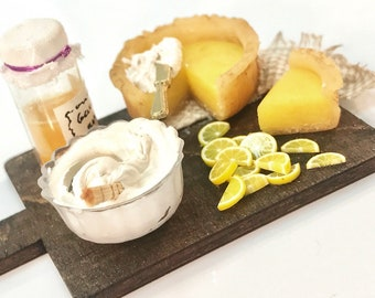 Lemon Pie - Preparation Board