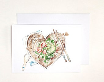 One Pho Me Illustrated card
